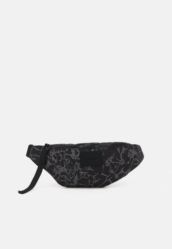 WAISTBAG PRINT UNISEX - Bum bag - black
