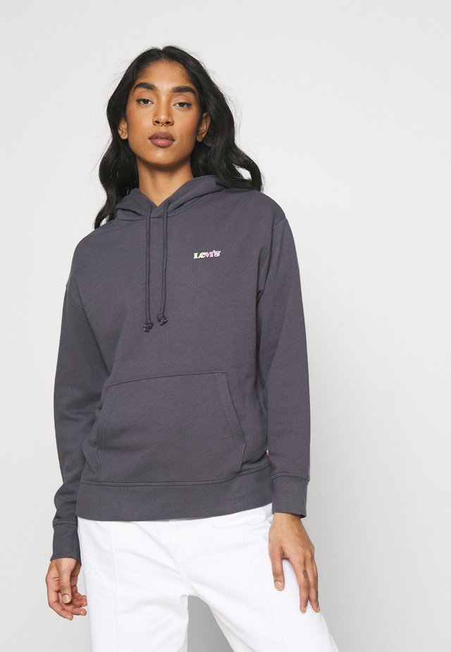 GRAPHIC STANDARD HOODIE - Mikina s kapucí - blackened pearl