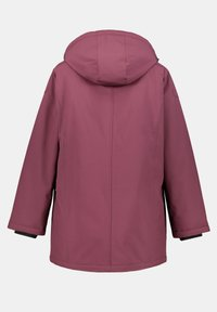Ulla Popken - PLUS SIZE ECO BIONIC-FINISH® STRETCH - Light jacket - berry - 2