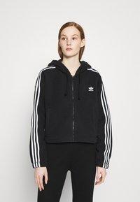 adidas Originals - Fleece jacket - black - 0