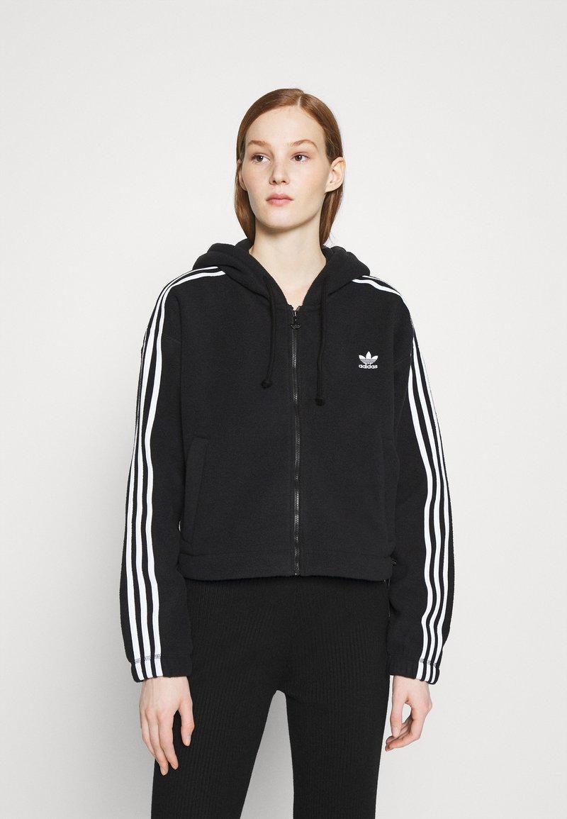 adidas Originals - Fleece jacket - black