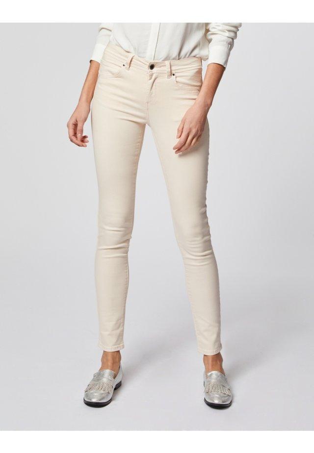 Jeans slim fit - mottled pink