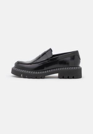 SLFVEGA PENNY LOAFER - Slippers - black