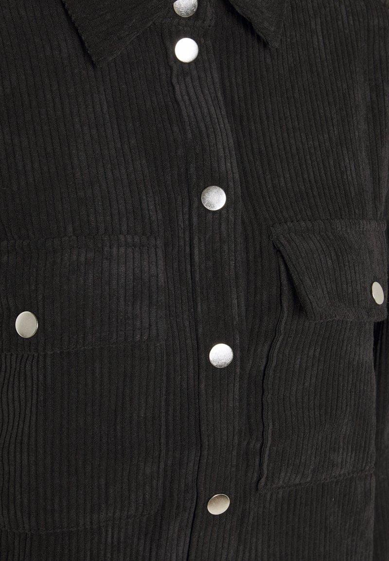 Gina Tricot CORY - Hemdbluse - black/schwarz CJrgeg