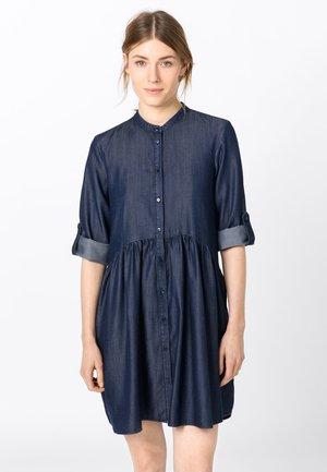 Denim dress - dark blue denim