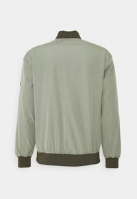TOM TAILOR DENIM - CLEAN  - Bomber Jacket - greyish shadow olive - 1