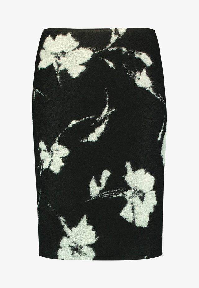Pencil skirt - black/white