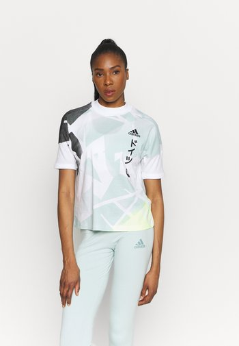 GER ZNE TEE - T-shirt imprimé - white