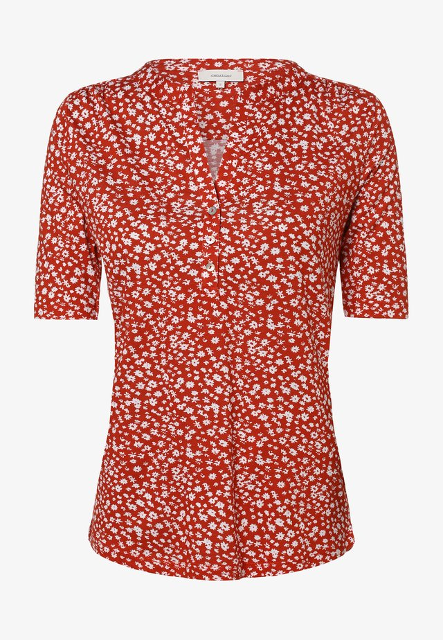 Blouse - rot weiß