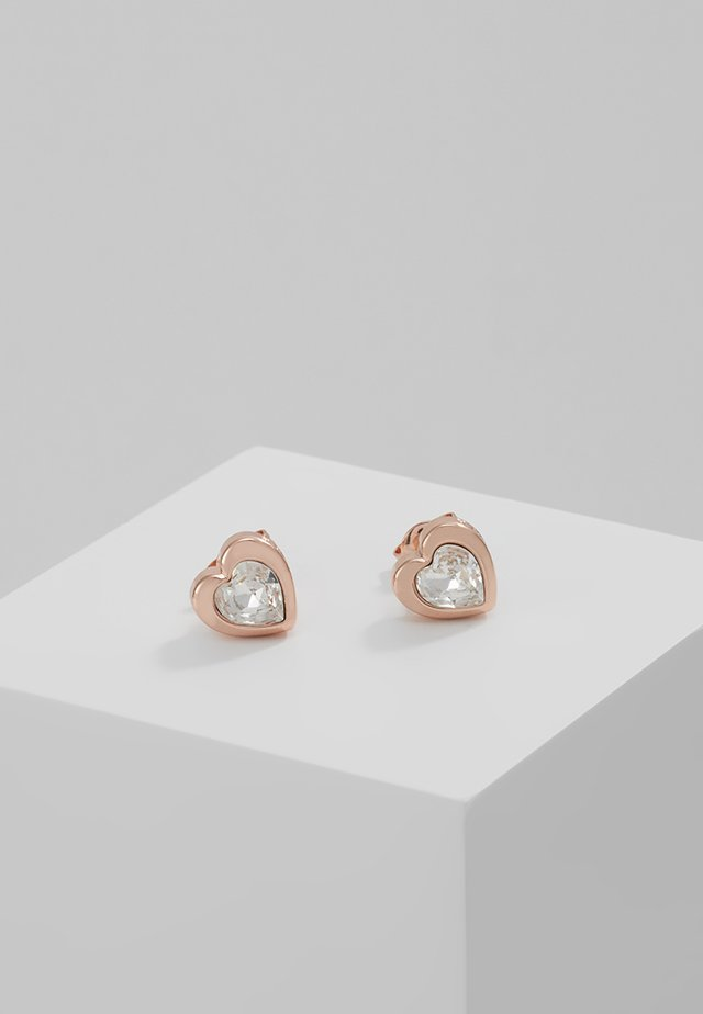 HEART - Pendientes - rose gold-coloured