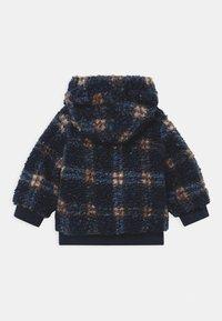 Name it - NBMMAZIE CHECK UNISEX - Winter jacket - dark sapphire - 1