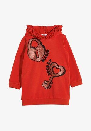 Day dress - red/padlock