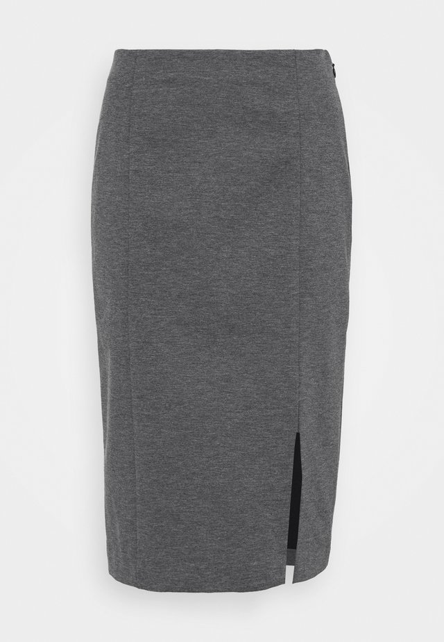 TAILORED SEAMING PENCIL - Pouzdrová sukně - dark charcoal