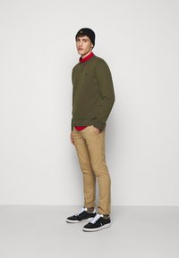 Polo Ralph Lauren - DOUBLE TECH - Long sleeved top - company olive - 1