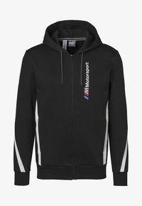 Puma - BMW M MOTORSPORT  - Zip-up hoodie - black - 4