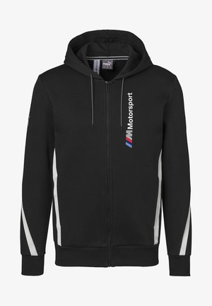 BMW M MOTORSPORT  - veste en sweat zippée - black