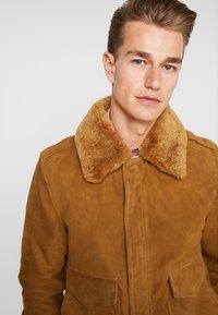 Schott - Leather jacket - rust - 5