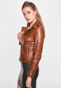 BTFCPH - MIA - Leather jacket - dark cognac - 3