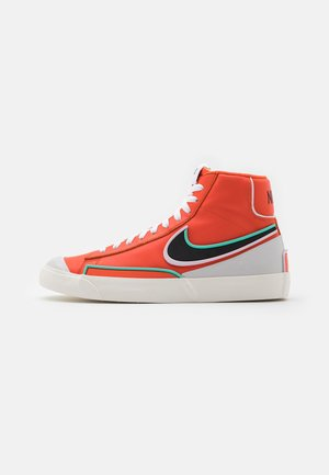 BLAZER MID '77 INFINITE - Baskets montantes - team orange/baroque brown/arctic pink