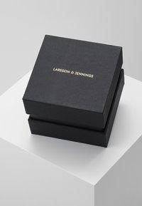 Larsson & Jennings - LUGANO SMOOTH ONE SIZE - Hodinky - silver-coloured/white/black - 3