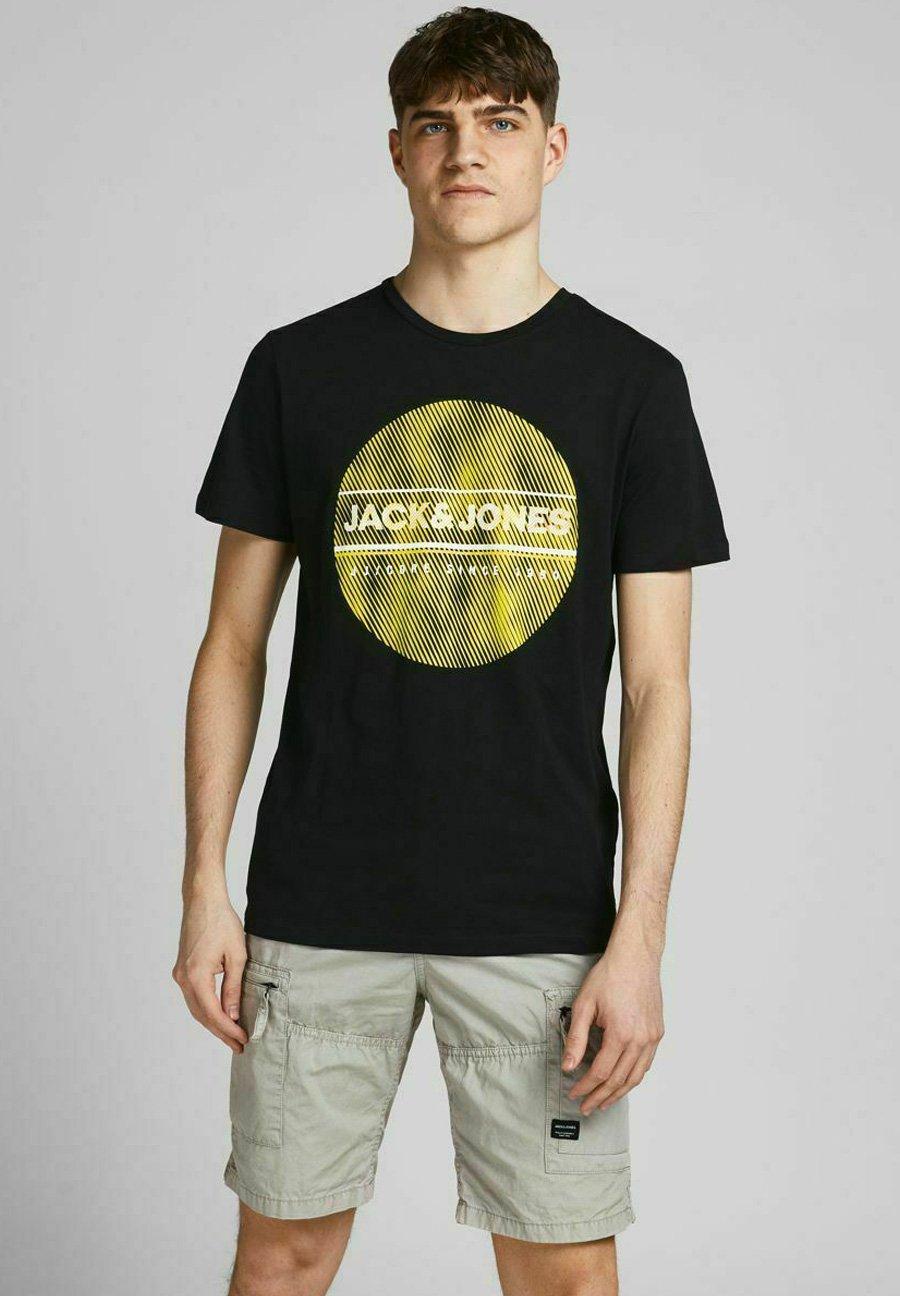Homme T-shirt imprimé - black