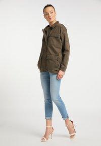 DreiMaster - Summer jacket - militär oliv - 1