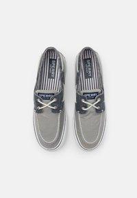 Sperry - BAHAMA II - Boat shoes - grey/khaki - 3