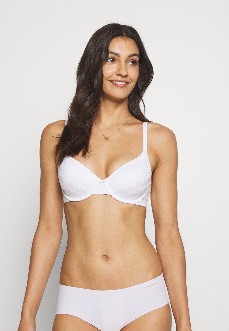 Marks & Spencer London - FULL CUP PLEATS - T-skjorte-BH - white