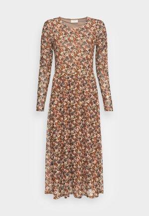 Day dress - brown mix