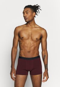 Pier One - 5 PACK - Pants - dark blue/bordeaux - 1