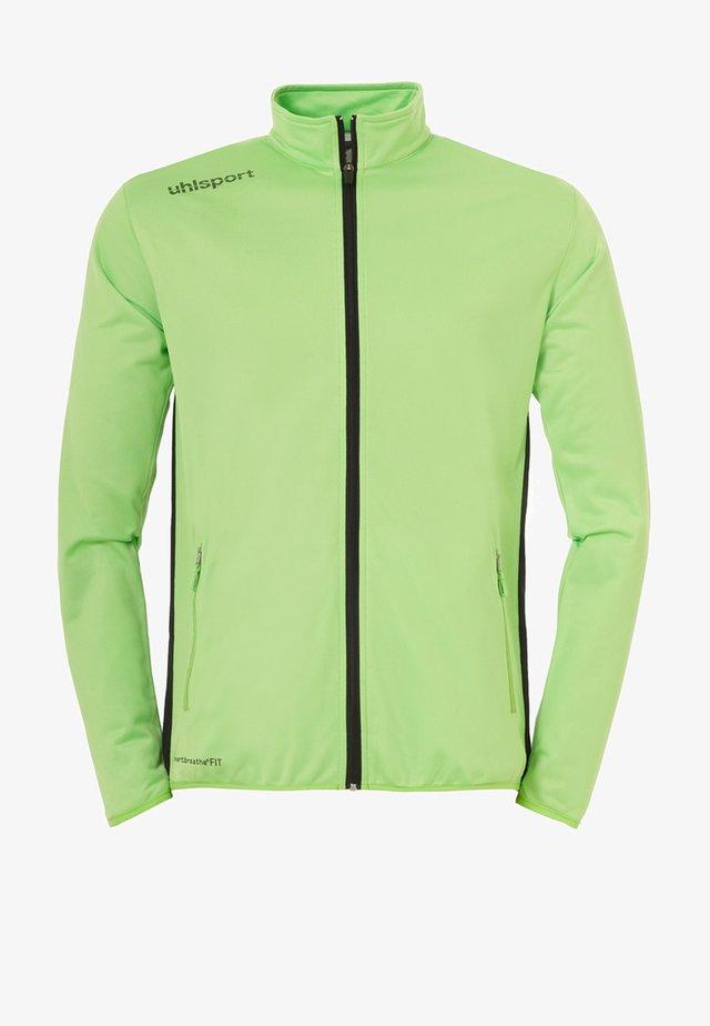 ESSENTIAL CLASSIC - Trainingsanzug - neon grün/schwarz