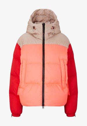 RAISSA - Doudoune - neon-orange/rot/beige