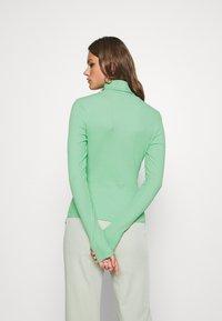 Weekday - VERENA TURTLENECK - Long sleeved top - sage green - 2