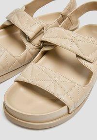 PULL&BEAR - Platform sandals - sand - 3