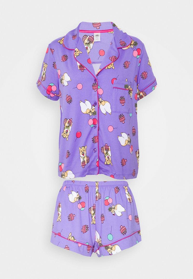 Chelsea Peers - SET - Pyjamas - purple