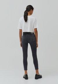 PULL&BEAR - Jeans Skinny Fit - dark grey - 2