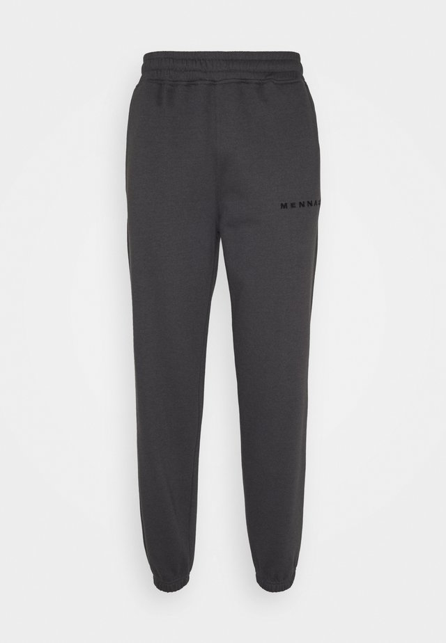ESSENTIAL JOGGER UNISEX - Trainingsbroek - dark grey