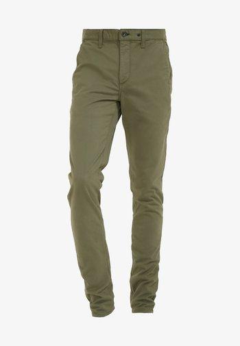 FIT - Chino kalhoty - army