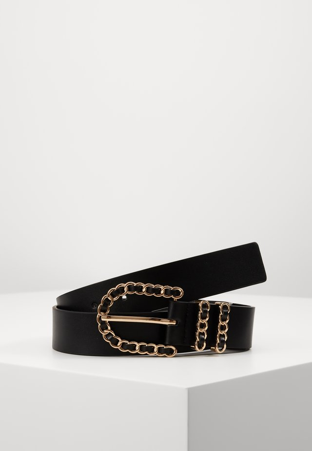 SANDRA BELT - Cintura - black/gold-coloured