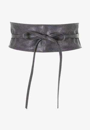 Waist belt - charcoal