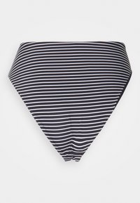 Seafolly - HIGH WAIST PANT - Bikini bottoms - black/white - 7
