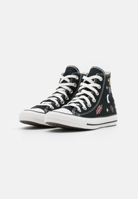 Converse - CHUCK TAYLOR ALL STAR  - Høye joggesko - black/white - 2