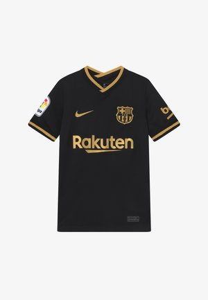 FC BARCELONA - Article de supporter - black/metallic gold