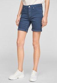 s.Oliver - Short en jean - faded blue - 5