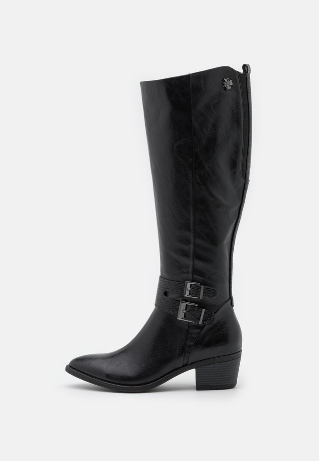 Stivali alti - black antic