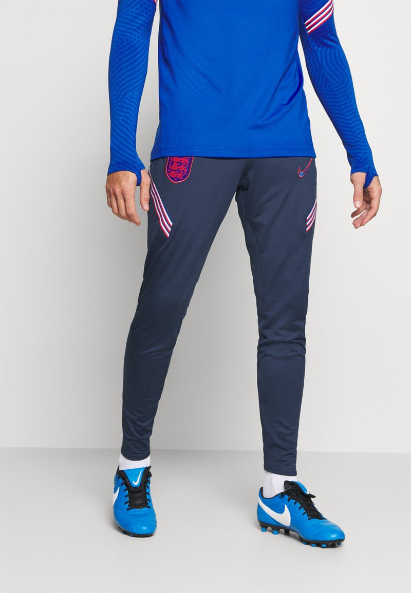 Nike Performance - ENGLAND ENT DRY PANT  - National team wear - midnight navy/sport royal/challenge red