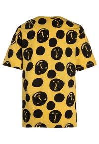 NOP - TEE YREKA - Print T-shirt - warm yellow - 1