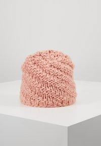 Barts - JADE BEANIE  - Mössa - dusty pink - 2