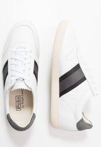 Polo Ralph Lauren - CAMILO - Baskets basses - white/black/grey - 1