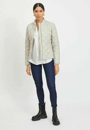 VIMINSK SHORT QUILTED JACKET - Light jacket - dove